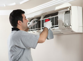 clean filtration, heating and air conditioning